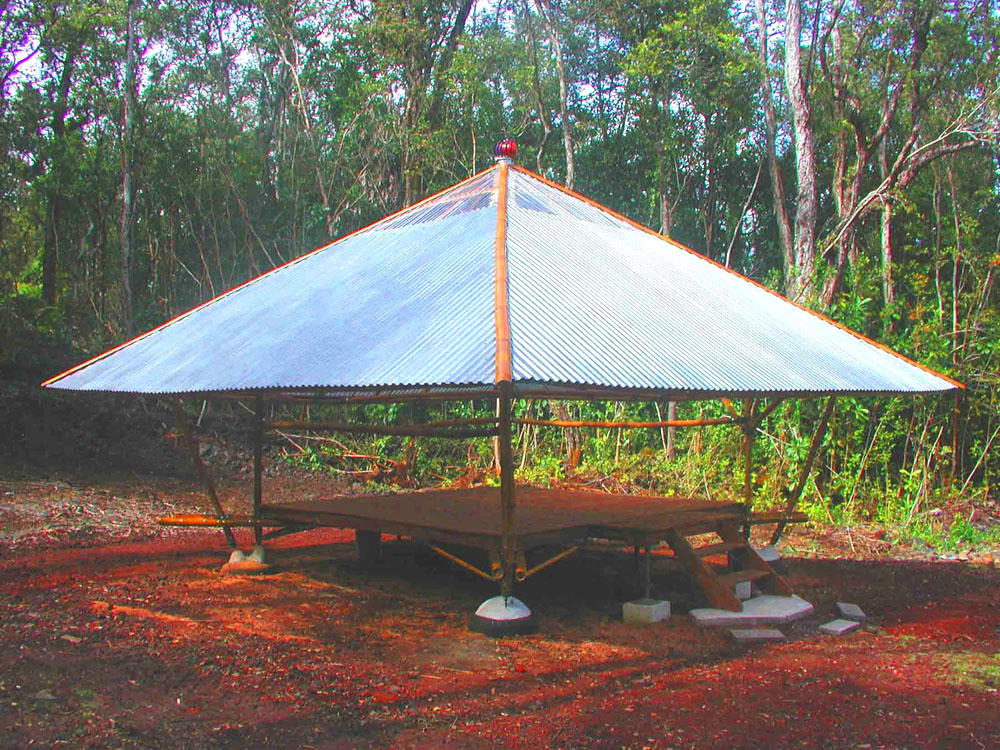 Bamboo Eco Shelters For Planet Earth Hawaii